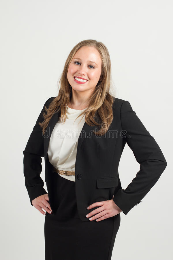 Young female professional stock photo
