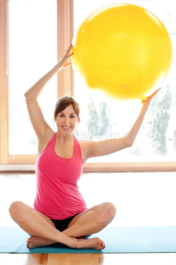 Download Young Fit Woman Working Out Stock Photo - Image: 29847618