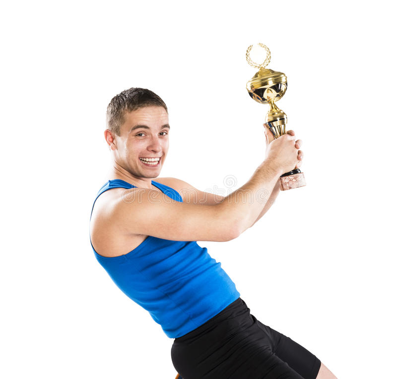 Download Fitness portrait stock photo. Image of blue, champion - 29798380