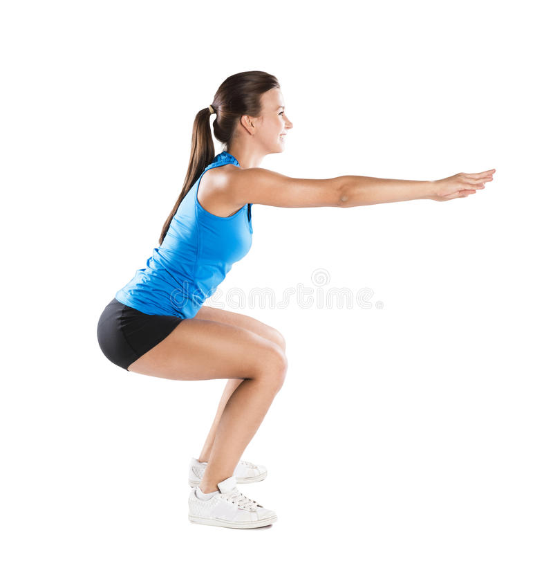 Download Fitness portrait stock photo. Image of pretty, length - 29798546