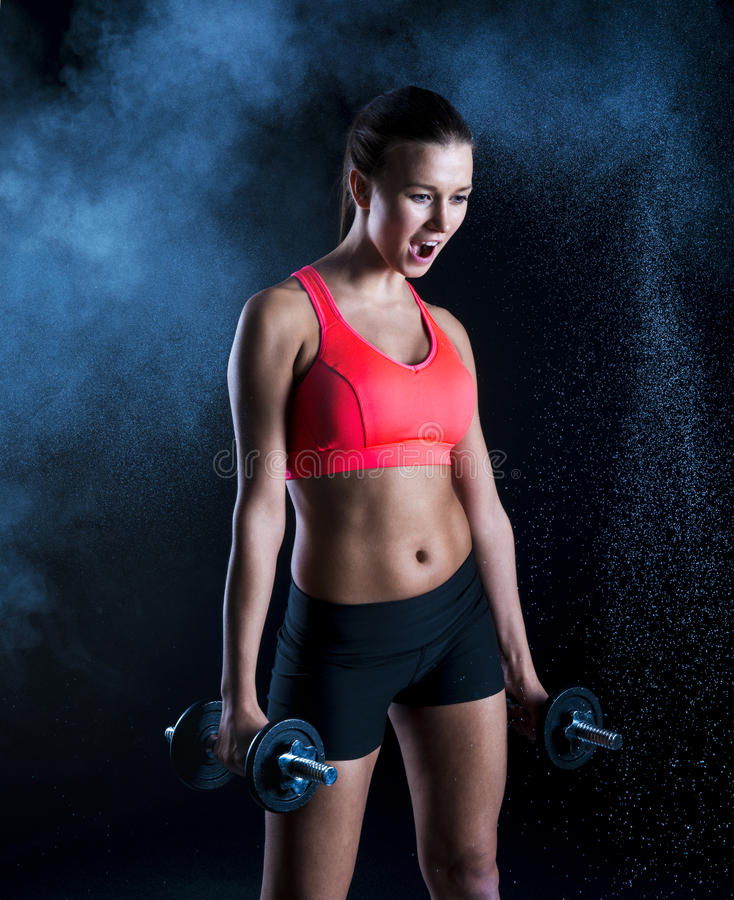 Download Fitness portrait stock photo. Image of sporty, sport - 29799056