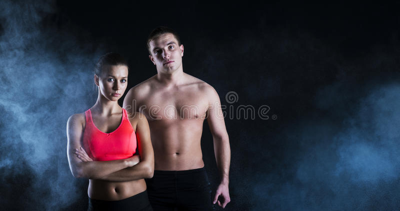 Download Fitness portrait stock image. Image of couple, fitness - 29798677