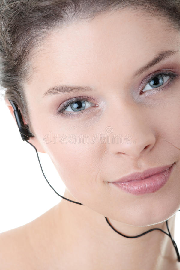 Download Young Fitness Woman With Sport Headphones Stock Image - Image: 11709823