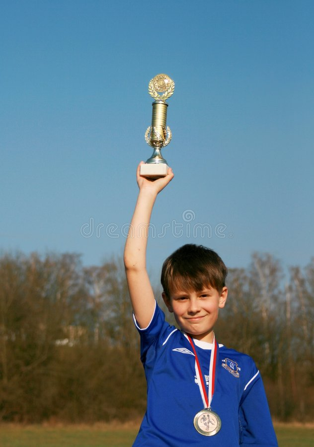 Free Young Footballer Royalty Free Stock Photography - 4760997