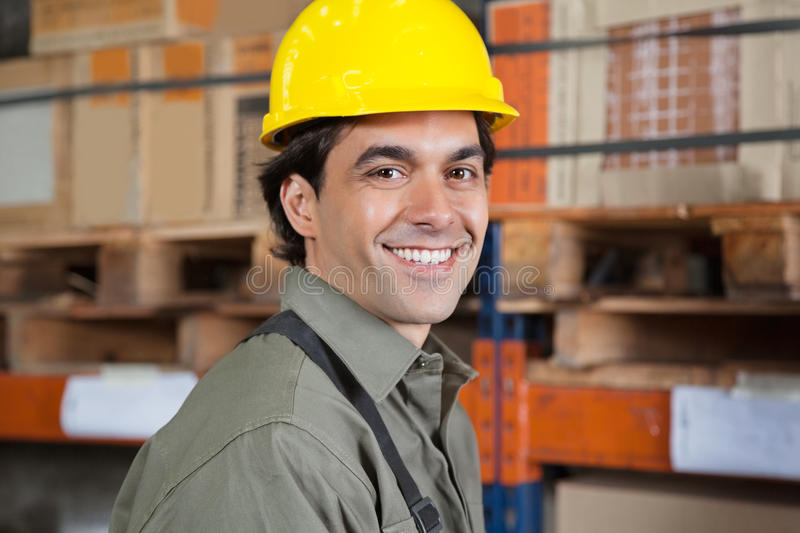 Download Young Foreman In Hardhat stock image. Image of confident - 36984521