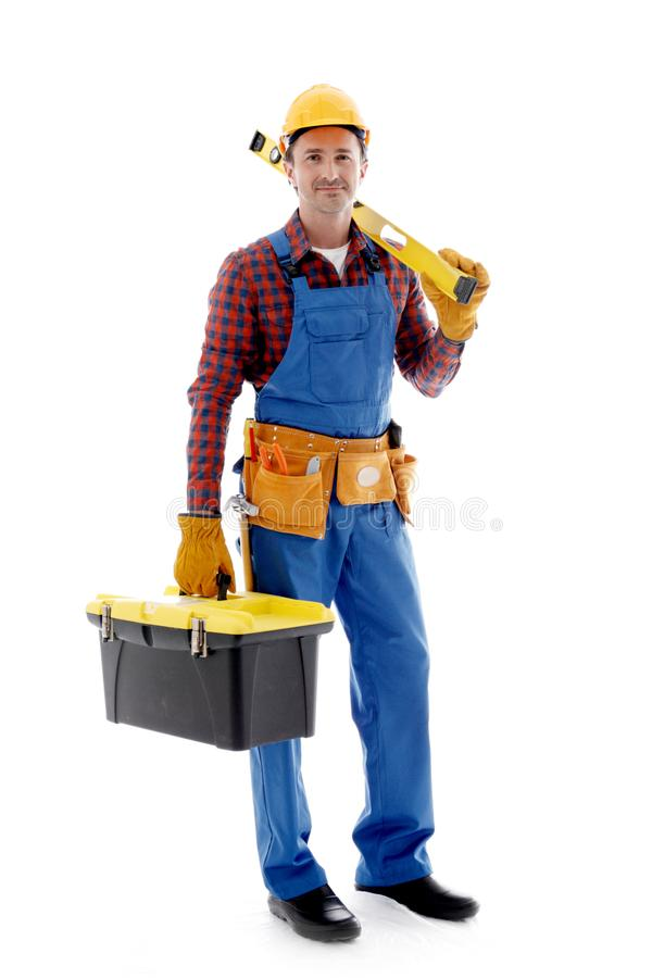 Manual worker stock image
