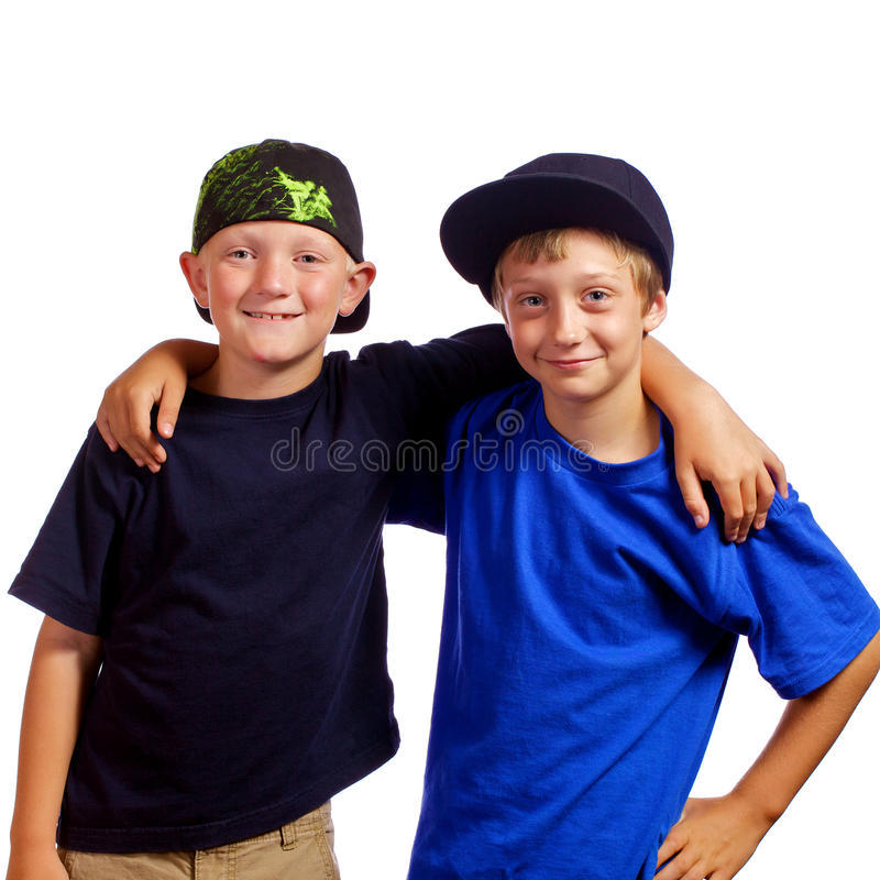 Young Friends royalty free stock photos