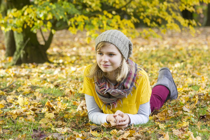 Young girl royalty free stock photo