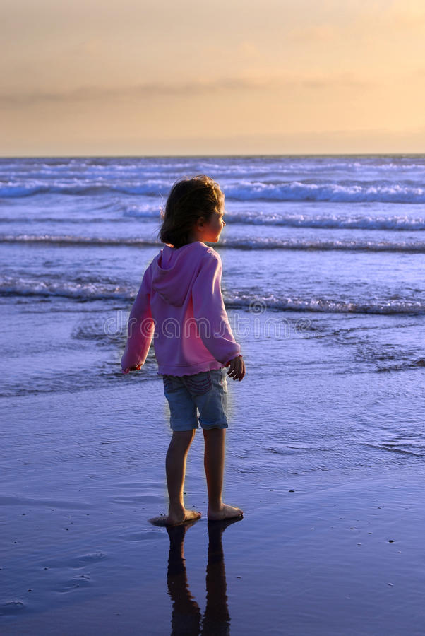 Download Young Girl On Beach Royalty Free Stock Images - Image: 10836809
