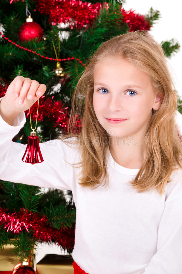 Download Young Girl With Bell. Stock Photo - Image: 16565840