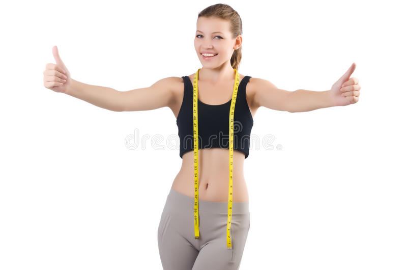 Download Young girl stock image. Image of nutrition, girl, exercise - 34664777