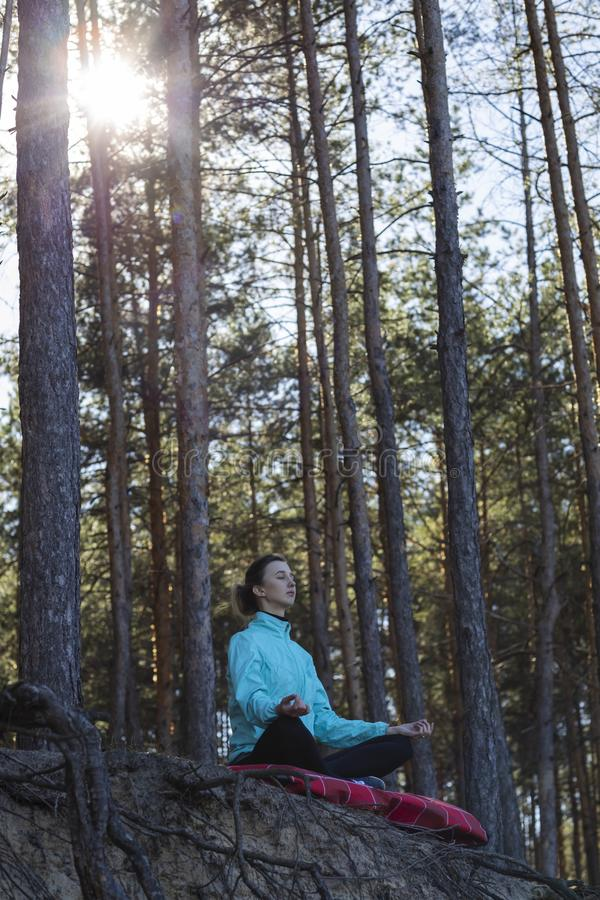 Woman, lifestyle, nature, exercise, fresh air, outdoor stock images
