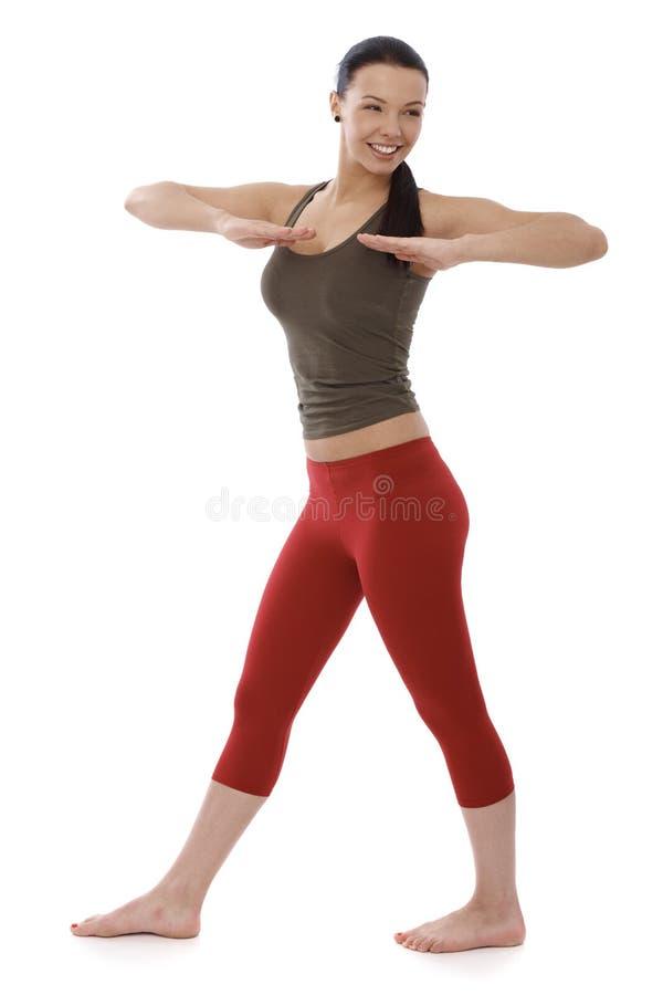Download Young Girl Doing Gymnastics Stock Image - Image: 31218987