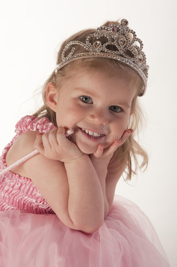 Download Young Girl Dressed In Fairy Princess Costume Stock Photo - Image: 12645690