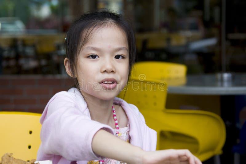 Young Girl Eating