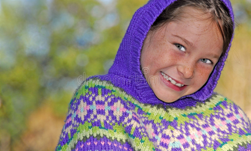 Young Girl In Fall Royalty Free Stock Image