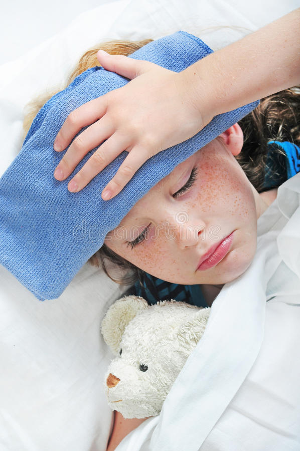 Free Young Girl Feeling Sick Royalty Free Stock Photos - 11000998
