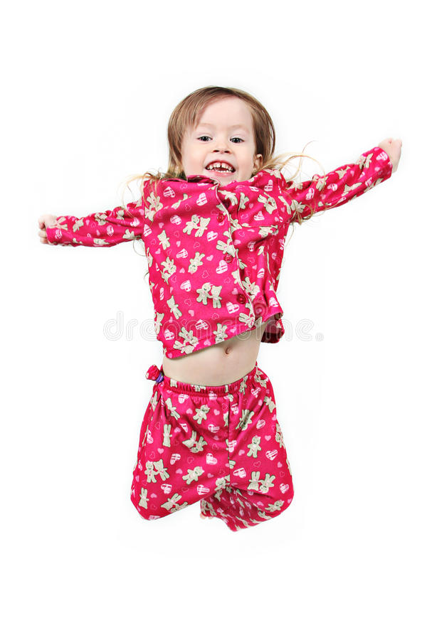 Download Young Girl Jumping Stock Photos - Image: 14233203