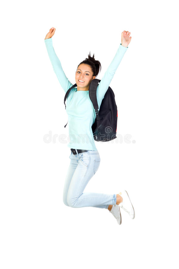Download Young Girl Jumping stock photo. Image of people, jump - 26967184