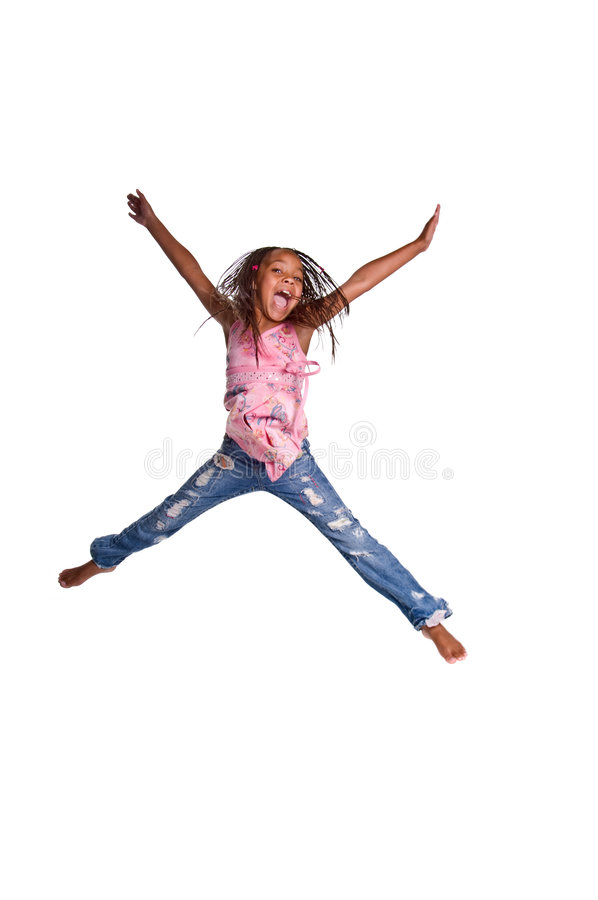 Download Young Girl Jumping Stock Images - Image: 6746134