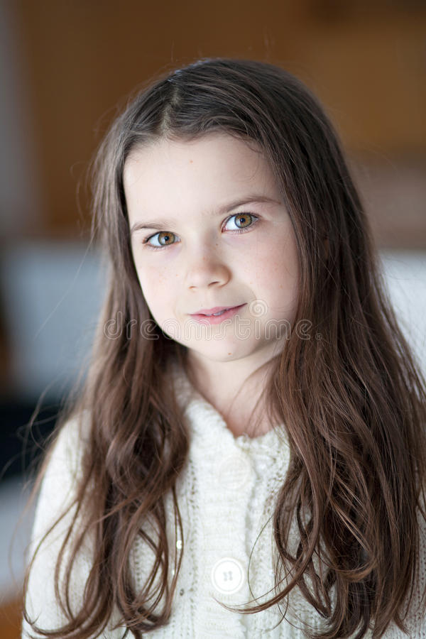 Young Girl with long hair stock photo. Image of image - 36673074
