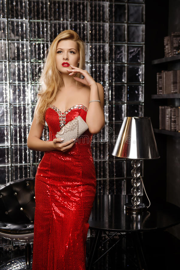 Download Young Girl In Modern Interior Stock Photo - Image: 83713371