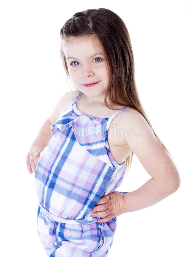 Download Young girl portrait stock photo. Image of happy, celebratory - 26672000