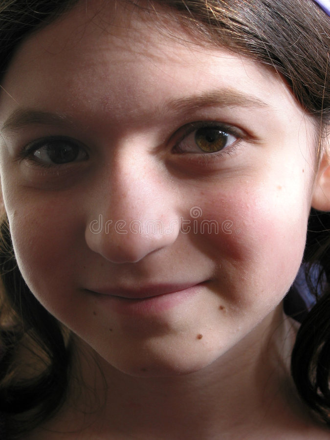 Download Young Girl Portrait Stock Image - Image: 522381