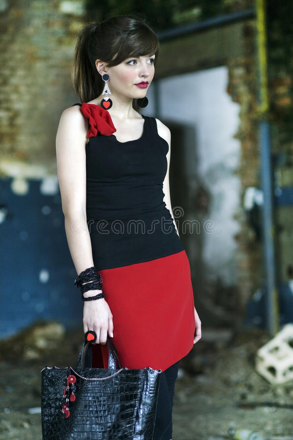 Download Young Girl Posing Royalty Free Stock Image - Image: 27608196
