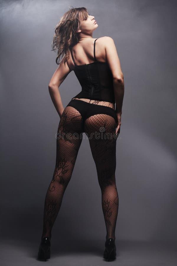 Young Girl Posing. Stock Photo