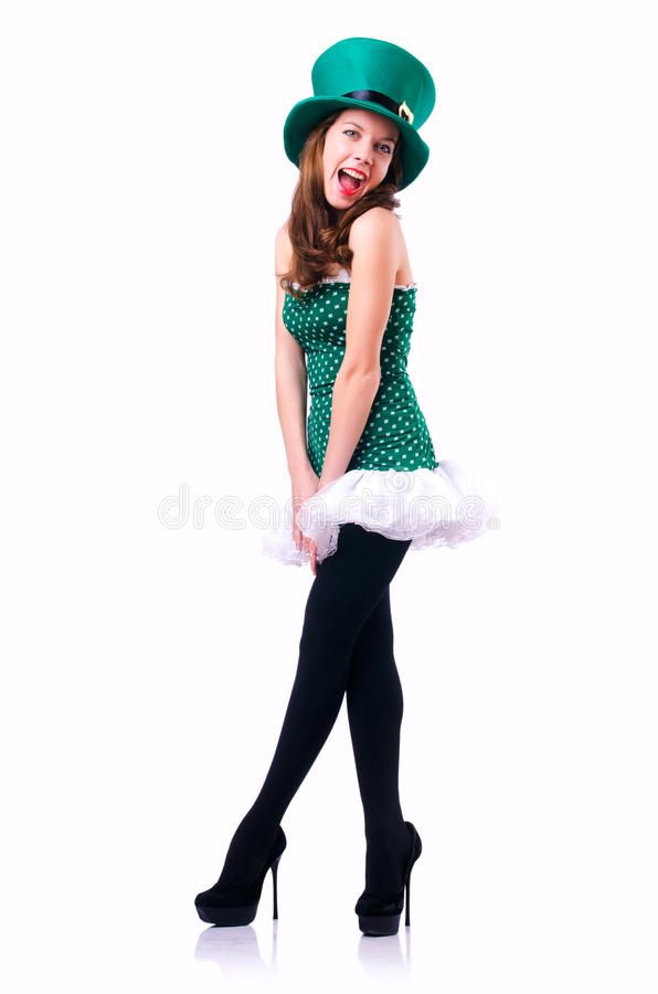 Download Young Girl In  Patrick Celebration Concept Stock Image - Image: 29914515