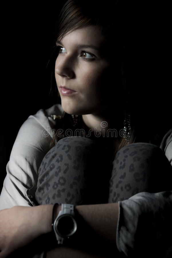 Download Young girl stare stock photo. Image of looking, female - 29472124