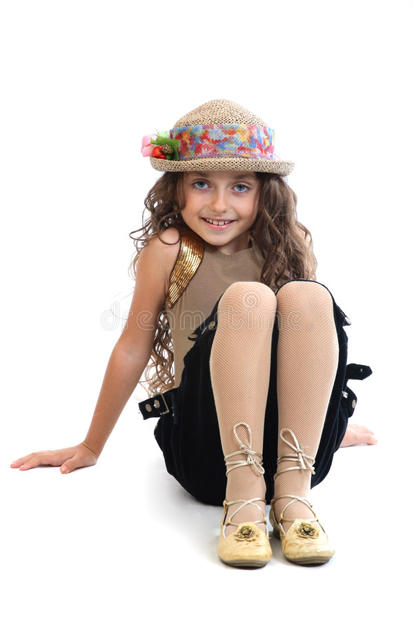 Download Young Girl Striking A Pose Stock Photography - Image: 3485162