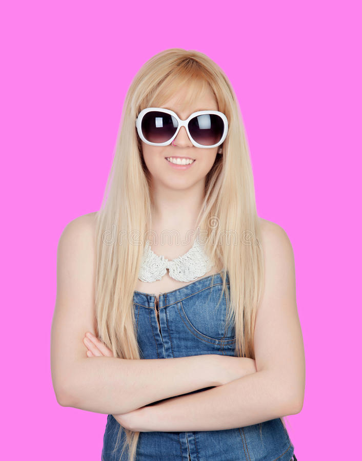 Download Young Girl With Sunglasses Stock Images - Image: 31723204