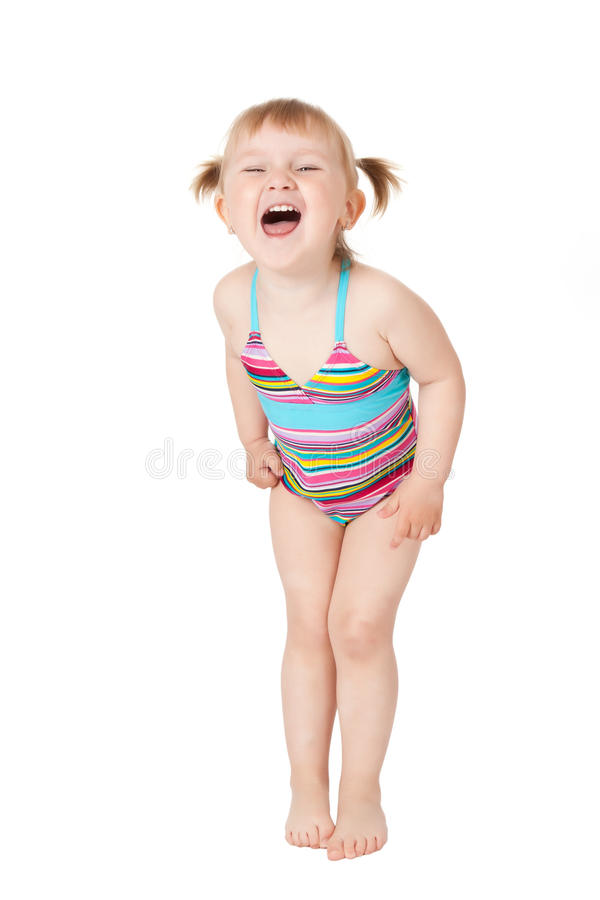 Download Young girl in swimsuits stock image. Image of swimsuit - 14380137