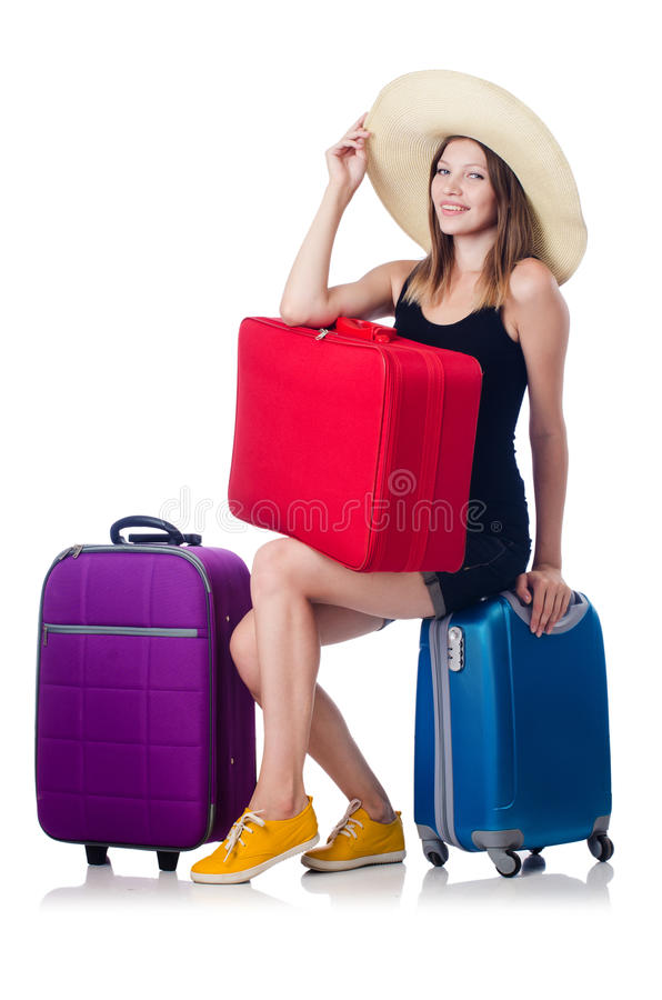 Download Young girl travelling stock photo. Image of adult, holiday - 34469456