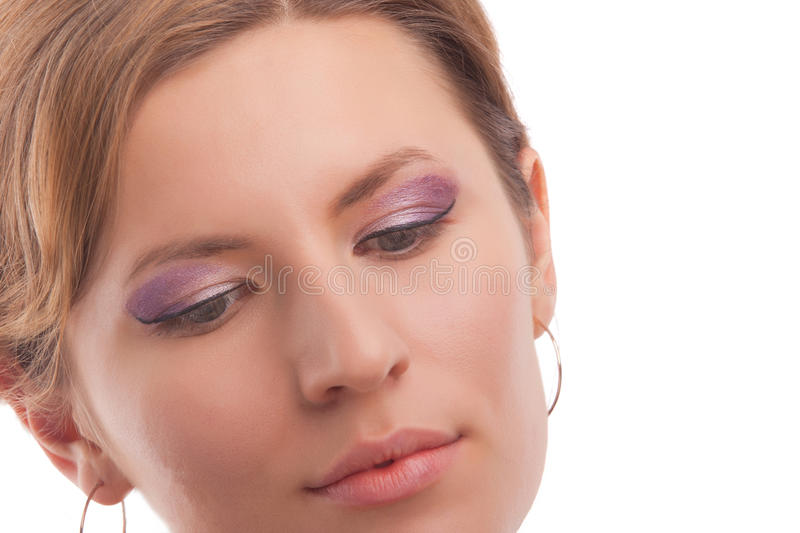 Download Young Girl With Vivid Makeup Stock Image - Image: 24054447