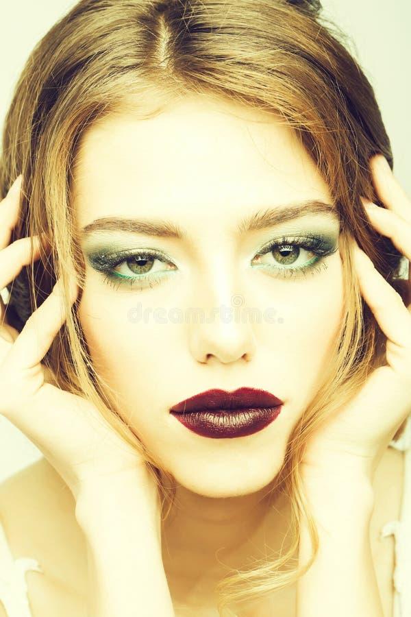 Sensual pretty woman royalty free stock photography