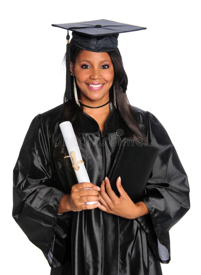 Free YOung Graduate Holding Diploma Royalty Free Stock Image - 10606546