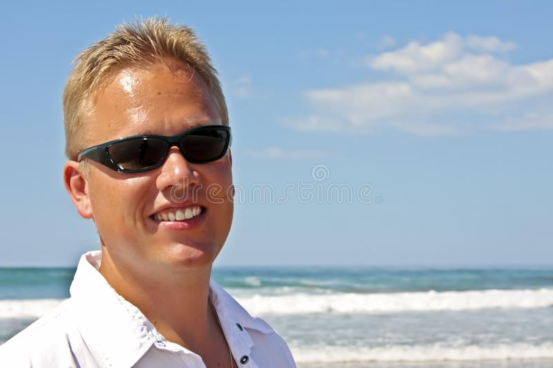 Download Young Guy Enjoying Holidays At The Beach Stock Photo - Image: 11297058