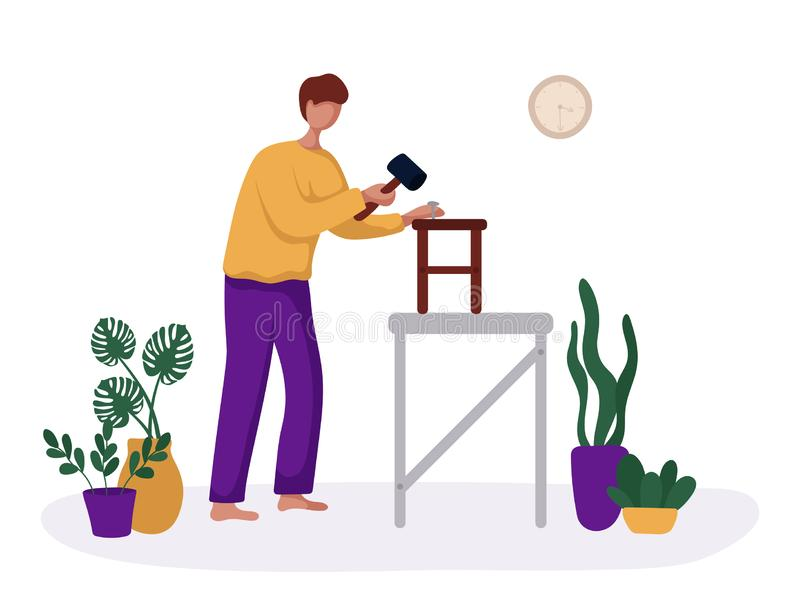 People Hobby Concept vector illustration