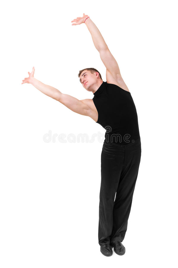 Young Gymnast Posing Stock Image