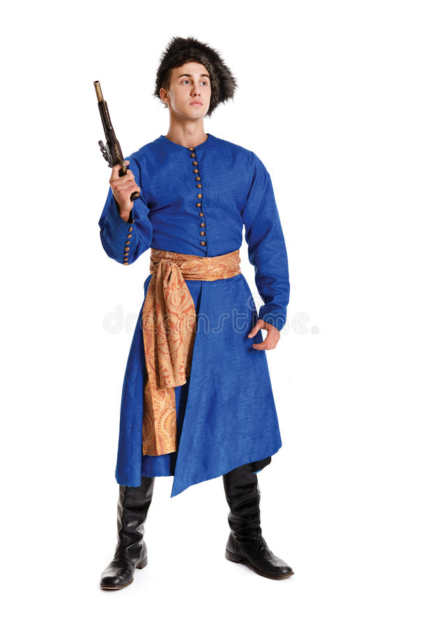 Download Young Handsome Actor In A Costume Of A Warrior, The Polish-Lithu Stock Photo - Image of person, arrogant: 35299968