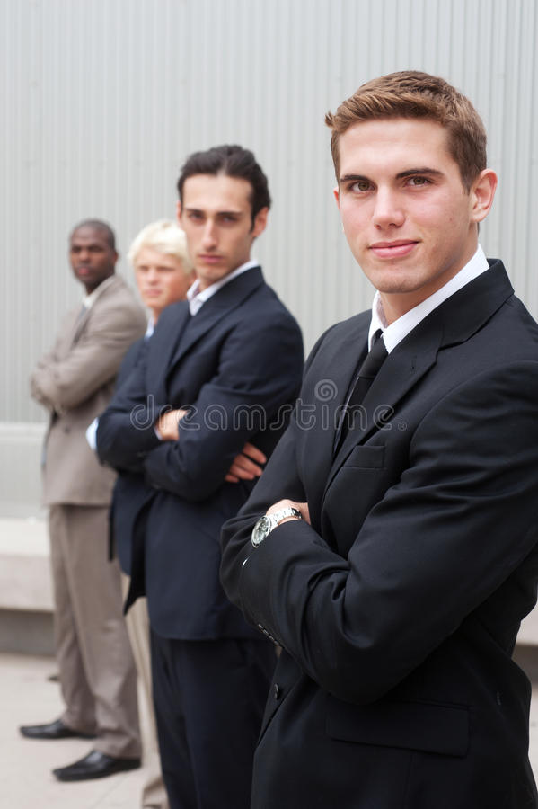 Download Young handsome businessman stock image. Image of professional - 24786241