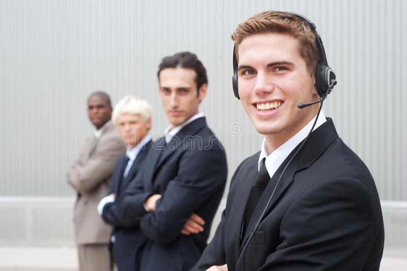 Download Young handsome businessman stock photo. Image of young - 25853092