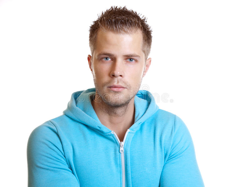 Download Young Handsome Guy Wearing A Hoodie Stock Photo - Image: 22329712