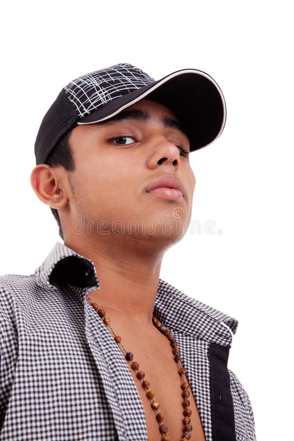 Download Young And Handsome Latin Man,serious Stock Image - Image: 17783427