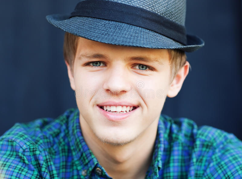Download Young handsome man stock image. Image of brunette, attractive - 20577269