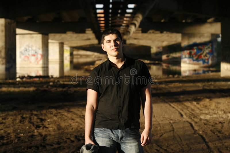 Young Handsome Man Stock Images