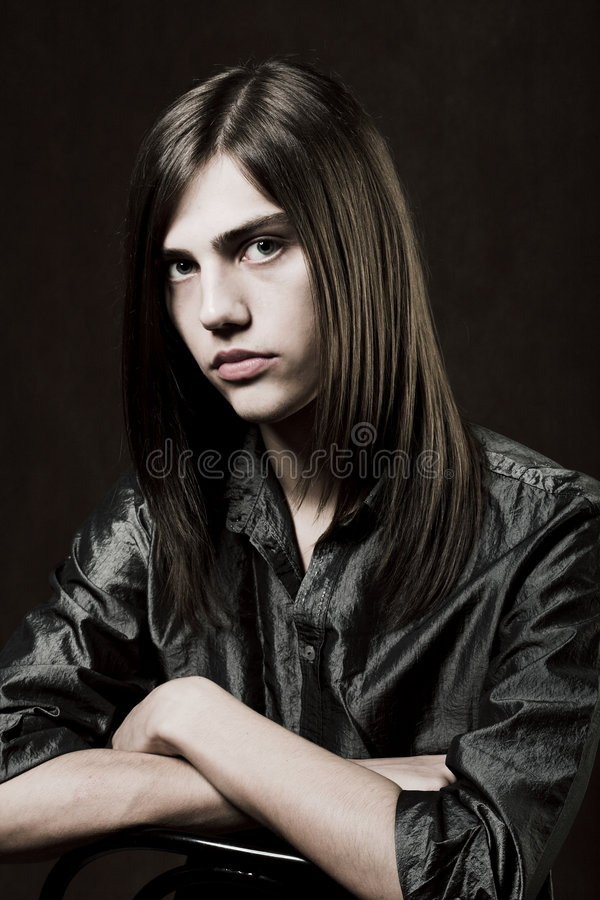 Young handsome man stock photos